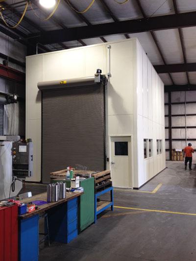 Coordinate Measuring Machine Cmm Equipment Enclosure