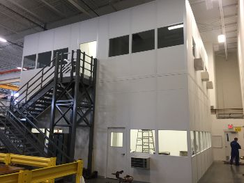 Modular Two-Story Building for CMM Room, QA/QC lab, and Office Space