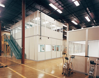 Gentil Soundproof Modular Inplant Office