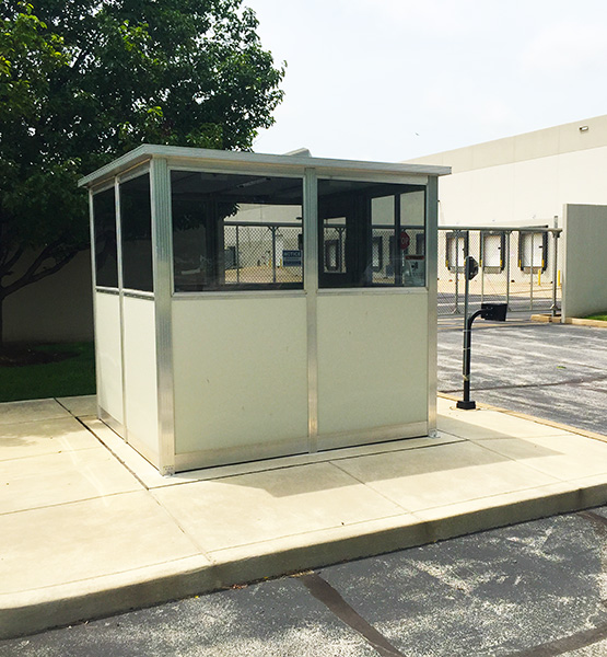 Pre-assembled Security Guard Booth - PortaFab