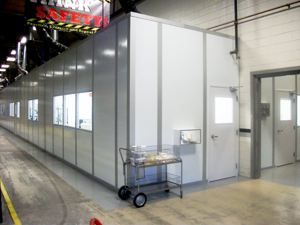 cleanroom for o-ring manufacturing