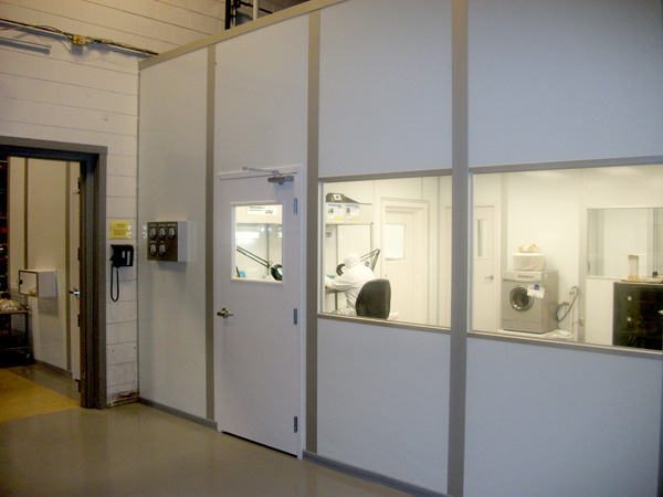 cleanroom for o-ring packaging