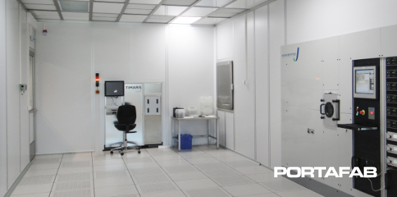 Cleanroom Fabline Wall Panels - Wall Panels for a Cleanroom - Cleanroom Wall Panels