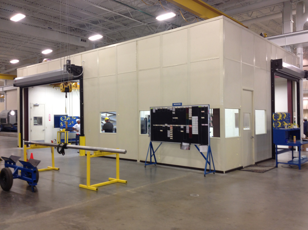 cmm equipment enclosure