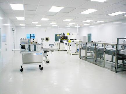 Environment controlled laminar air flow areas clean rooms for Air circulation in a room