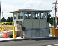 Guard Houses - PortaFab Pre-Assembled Booth Application