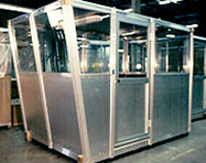 Operator Booths - PortaFab Pre-Assembled Booth Application