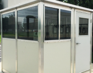 Ticket Booths - PortaFab Pre-Assembled Booth Application