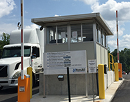 Toll Booths - PortaFab Pre-Assembled Booth Application