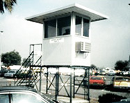 Observation Towers - PortaFab Pre-Assembled Booth Application