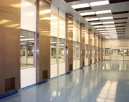 cleanroom for pharmaceutical packaging