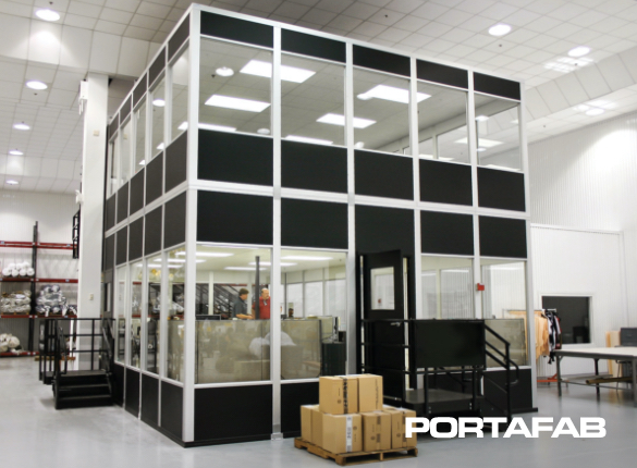 Modular Control Room, modular control rooms, modular wall panels, control rooms for warehouses