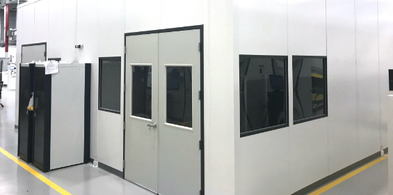 CMM Room Measuring Machine, modular control rooms, modular control room, modular offices, modular buildings, modular control room buildings