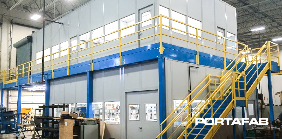 CMM Room Measuring Machine, modular office, modular offices, modular factory office, office in factory, factory office