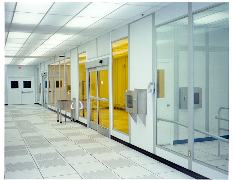 Portafab Cleanline Modular Cleanroom Wall System