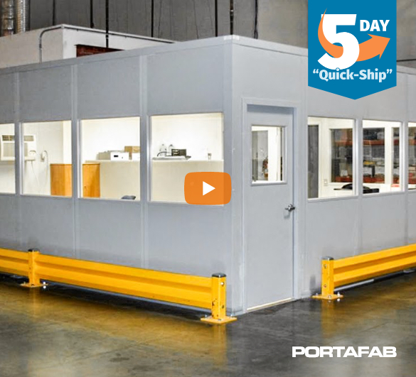 quick ship modular office, fast shipping modular office