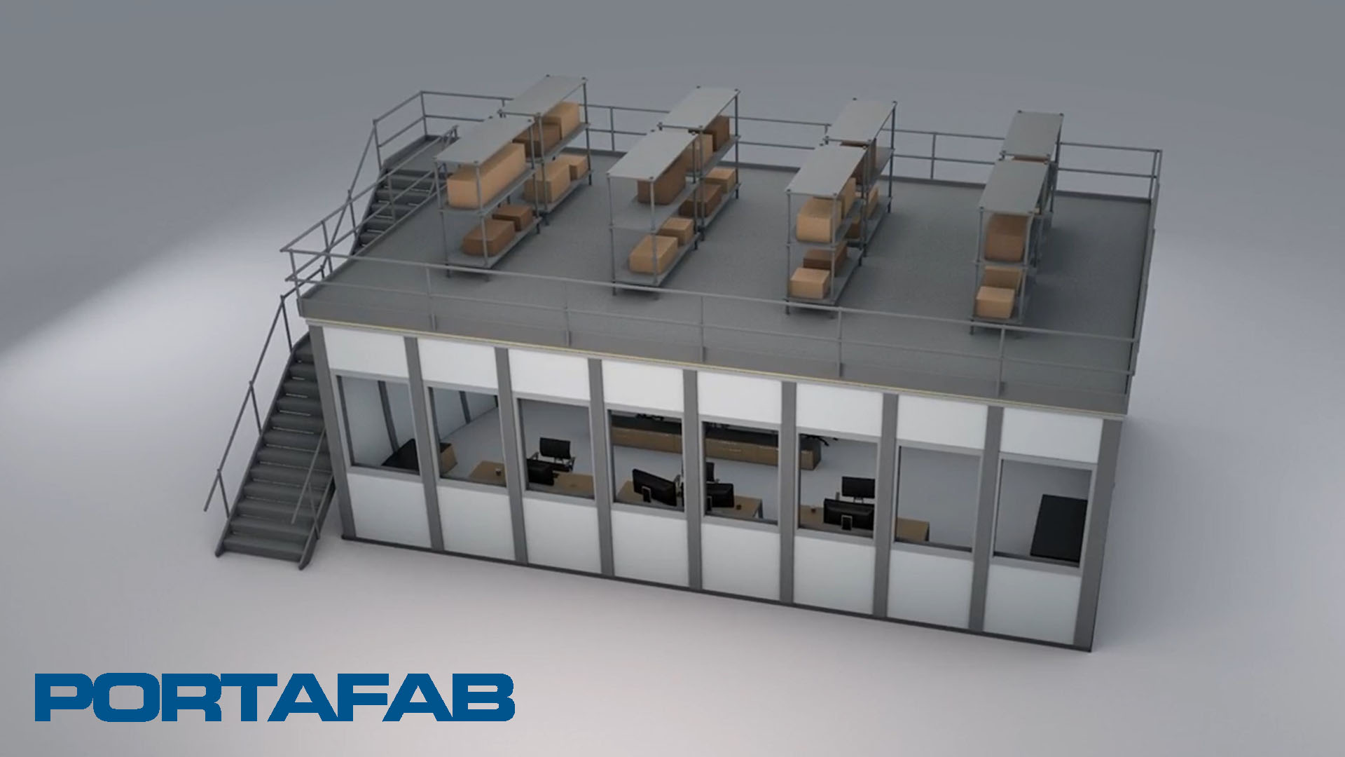Create More Space with Modular Systems Video Thumbnail - PortaFab