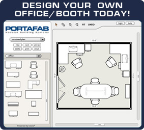 Design Your Own Office Portafab Modular Buildings  Interactive Room Planner