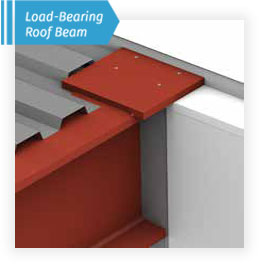 load bearing roof beam