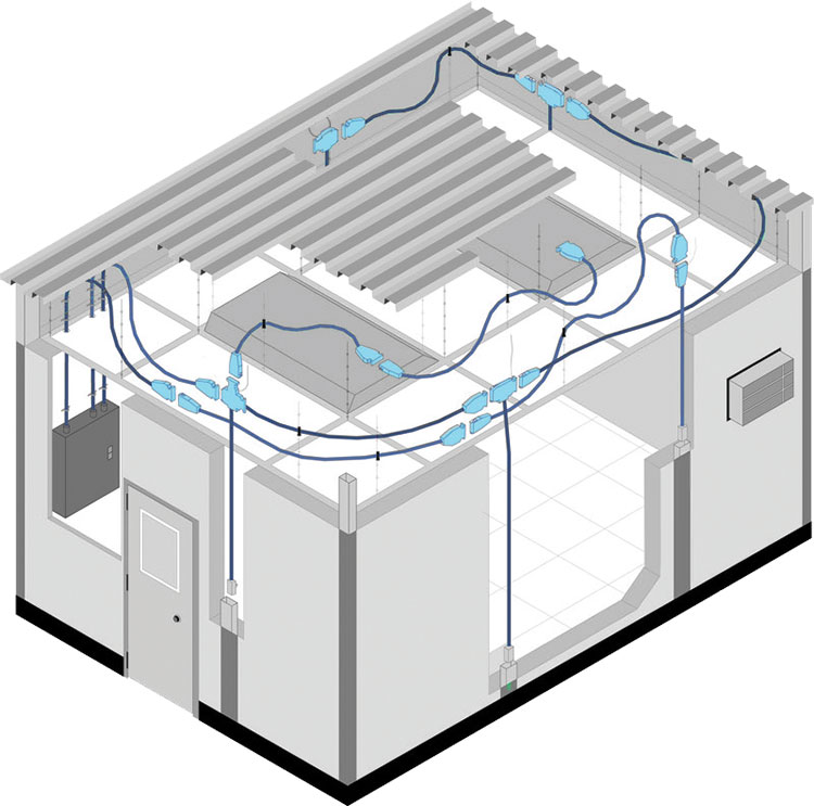 portafab modular building systems electrical lighting rh portafab com Piping Diagram Mobile Home Mobile Home Roof Diagram