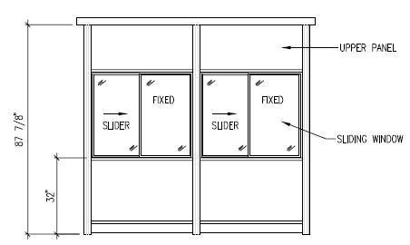 Window height from floor level gurus floor for Window height from floor