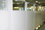 free standing wall partition supplier atlanta