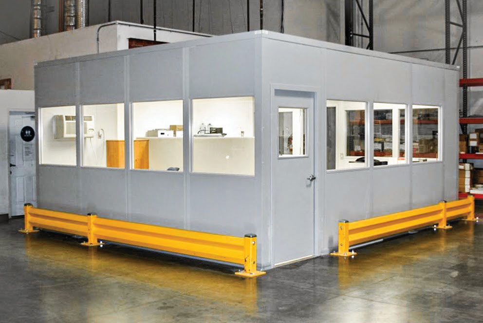 Quick-Ship Inplant Offices - PortaFab Modular Building Systems