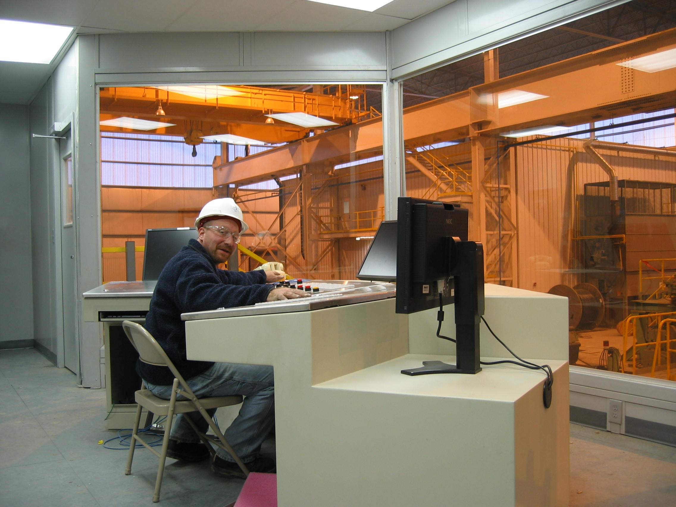Brilliant Industrial Control Room For Steel Mill Portafab Case Study Largest Home Design Picture Inspirations Pitcheantrous