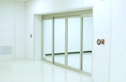 electric sliding cleanroom door