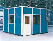 Smoking Booths - PortaFab Pre-Assembled Booth Application