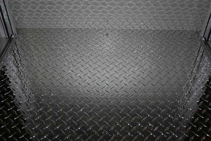 aluminum booth flooring