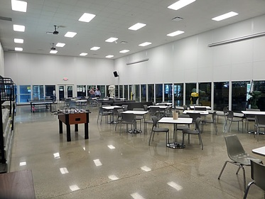 Break Room / Lunchroom in Manufacturing Plant