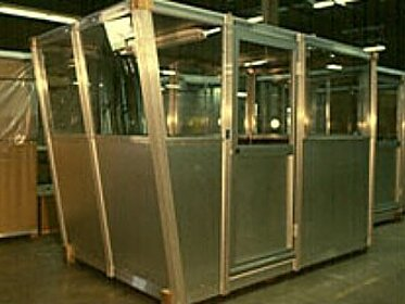 Observation Booth - PortaFab Modular Booths & Shelters
