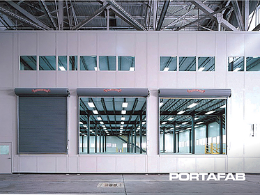 inplant office, in plant office, modular office in warehouse, modular warehouse office