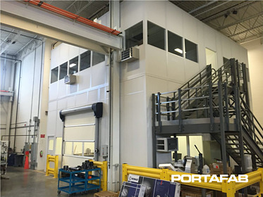 modular machine enclosures, machine enclsoures, modular cleanroom walls