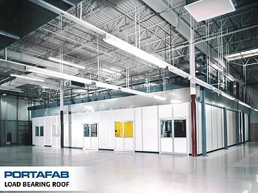 Load-Bearing Roof - PortaFab Modular Inplant Buildings