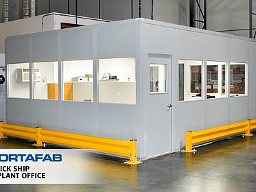 Quick Ship Inplant Office - PortaFab Modular Inplant Building
