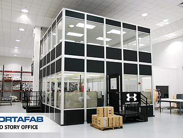 Two-Story Office - PortaFab Modular Inplant Buildings