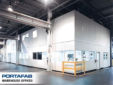 Warehouse Offices - PortaFab Modular Buildings