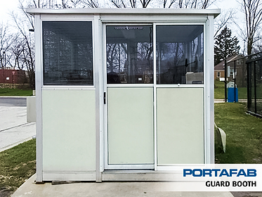 Guard Booth - PortaFab Modular Booths & Shelters