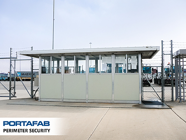 Perimeter Security - PortaFab Modular Booths & Shelters
