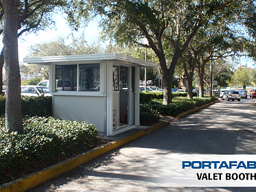 Valet Booth - PortaFab Modular Booths & Shelters