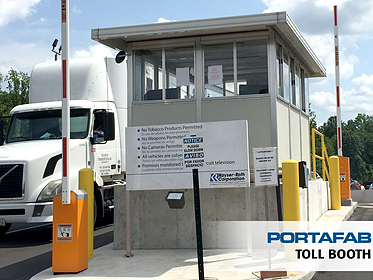 Toll Booth - PortaFab Modular Booths & Shelters