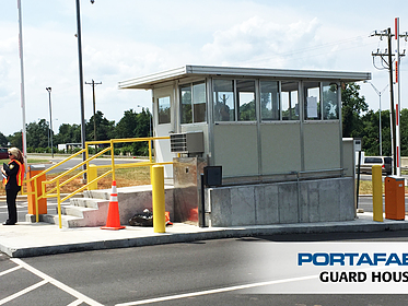 Guard House - PortaFab Modular Booths & Shelters