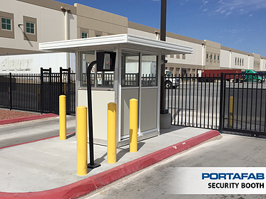 Security Booth - PortaFab Modular Booths & Shelters