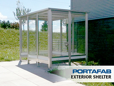 Exterior Shelter - PortaFab Modular Booths & Shelters