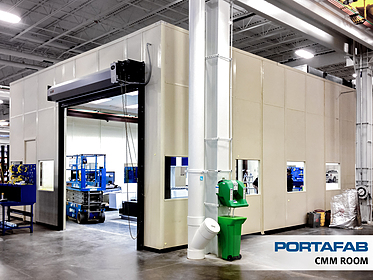 CMM Room - PortaFab Modular Cleanrooms