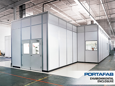 Environmental Enclosure - PortaFab Modular Cleanrooms