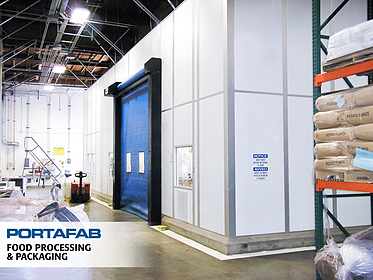 Cleanroom for Food Processing & Packaging - PortaFab Modular Cleanrooms