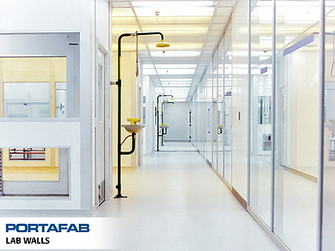 Lab Walls - PortaFab Modular Cleanrooms